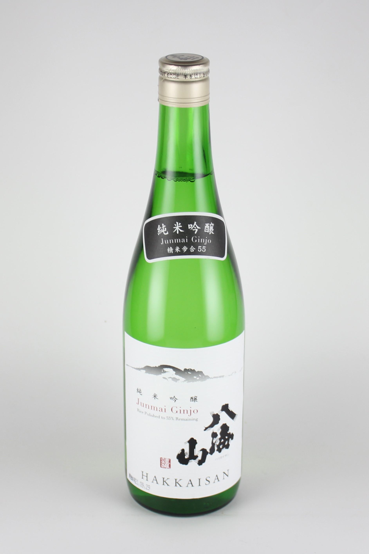 八海山 純米吟醸55 720ml 【新潟/八海醸造】