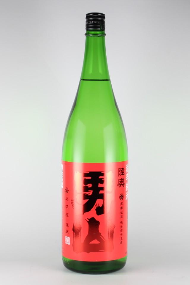 陸奥男山 超辛口純米 1800ml 【青森/八戸酒造】