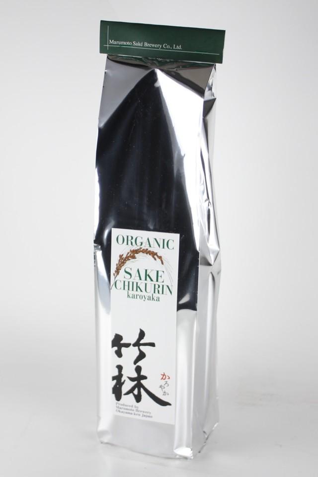 竹林 かろやか オーガニック 純米吟醸 有機山田錦 720ml 【岡山/丸本酒造】