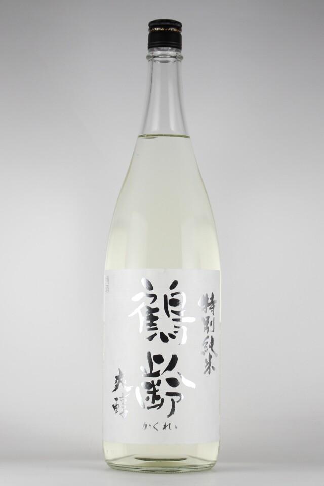 鶴齢 爽醇 特別純米 越淡麗 1800ml 【新潟/青木酒造】