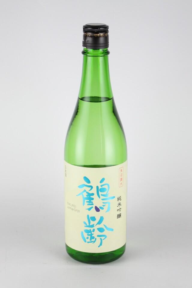 鶴齢 純米吟醸 越淡麗 720ml 【新潟/青木酒造】