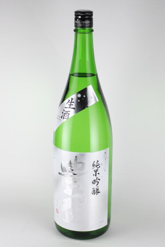 豊盃 winter 純米吟醸生酒 豊盃米 1800ml 【青森/三浦酒造】