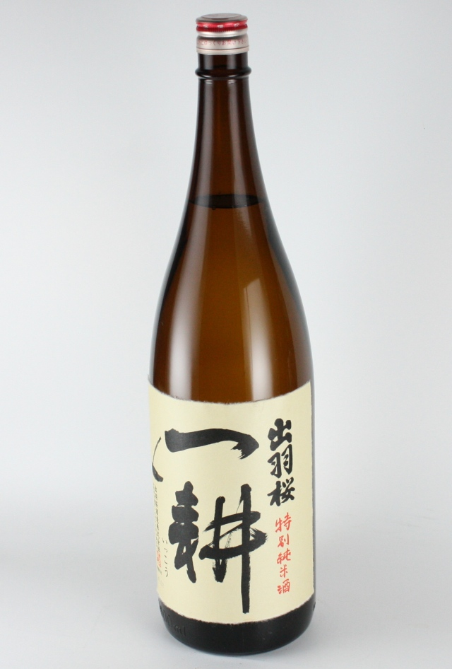 出羽桜 一耕 純米 1800ml 【山形/出羽桜酒造】