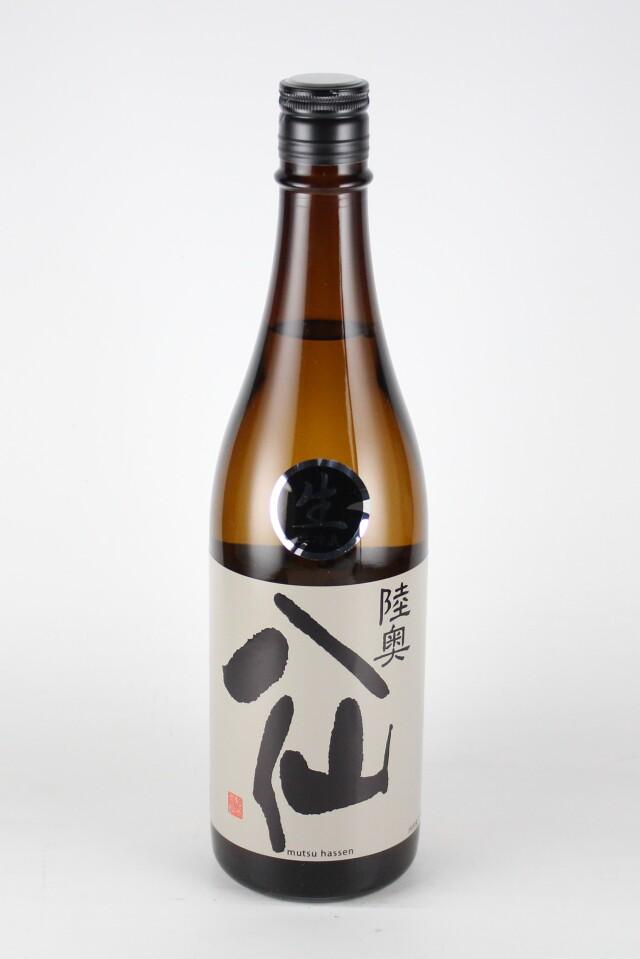 陸奥八仙 黒ラベル 純米吟醸生原酒 720ml 【青森/八戸酒造】