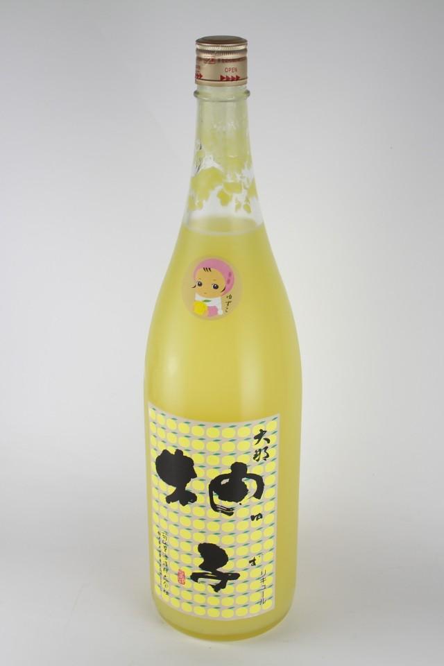 大那 ゆずこ 1800ml 【栃木/菊の里酒造】