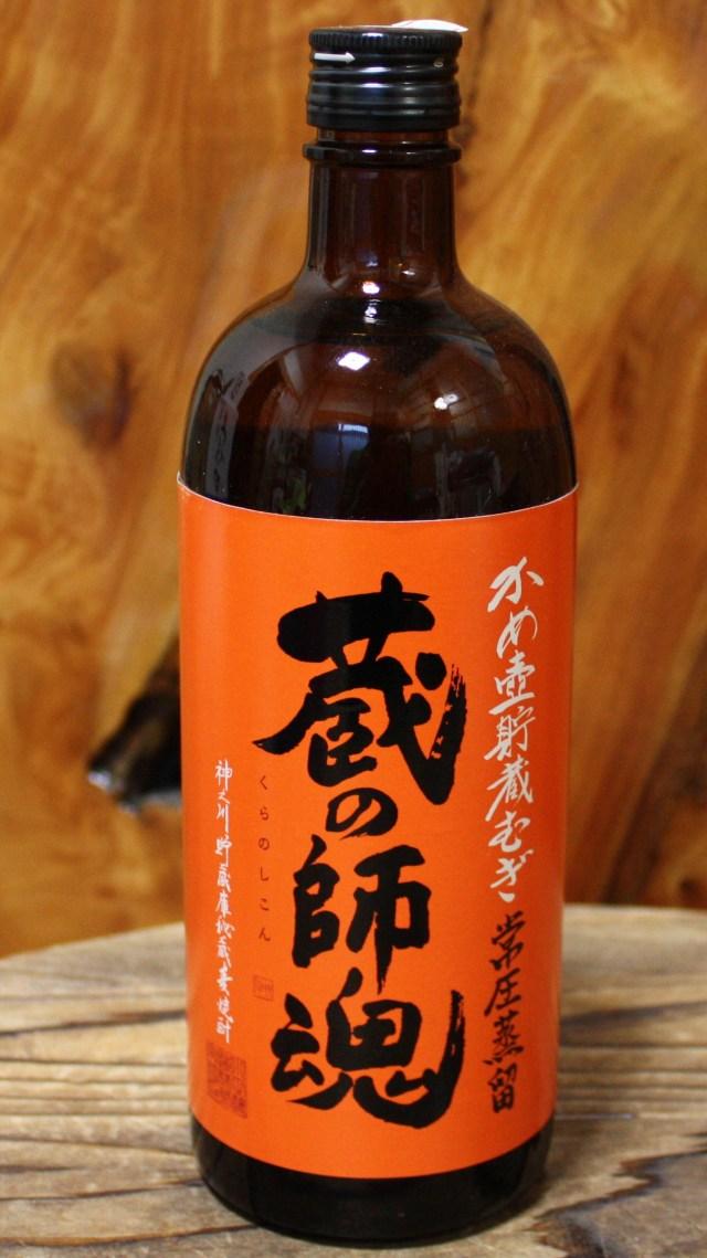 【鹿児島/小正醸造】 蔵の師魂 かめ壺貯蔵麦 25度 (720ml)