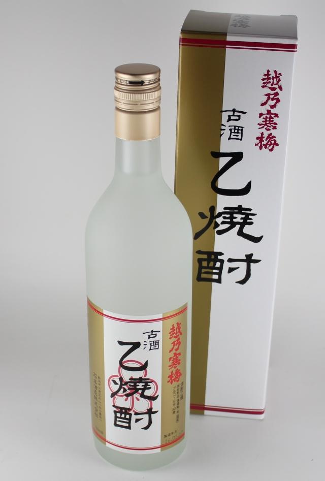 越乃寒梅 古酒乙焼酎 40度 720ml 【新潟/石本酒造】