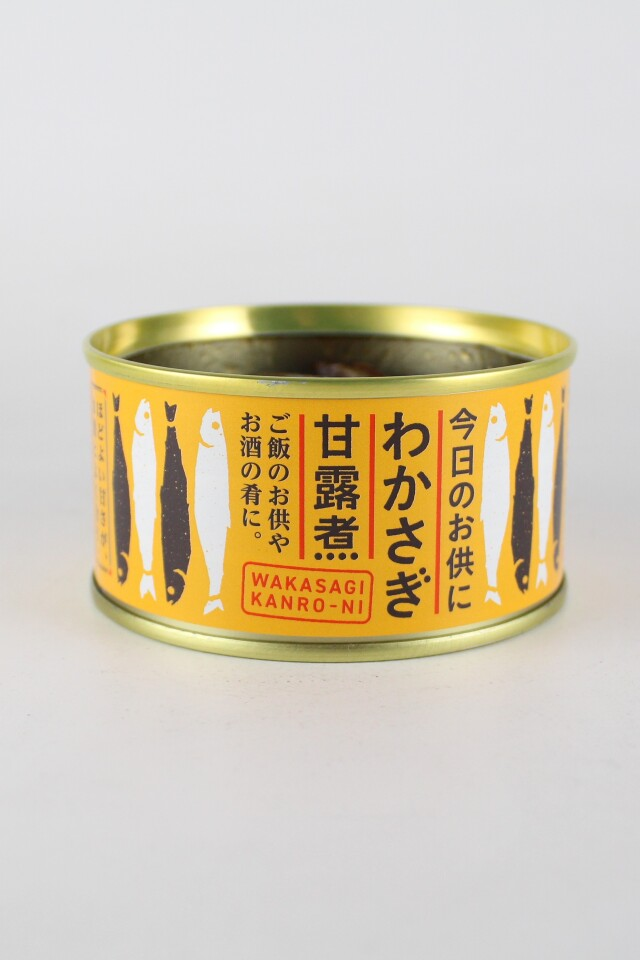 木の屋 わかさぎ甘露煮 缶詰 140グラム