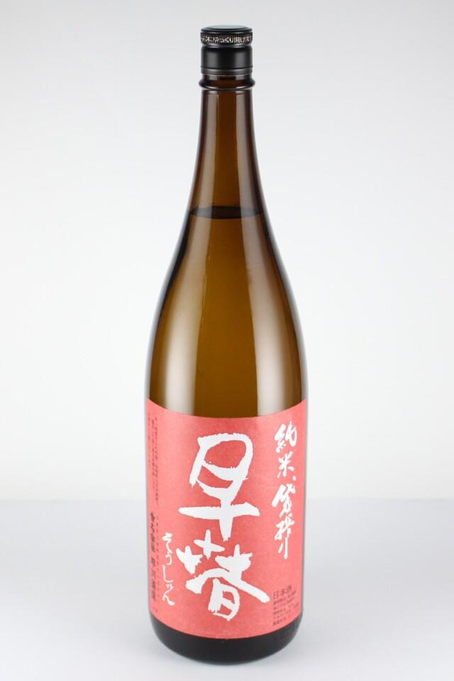 早春 純米 袋搾り 1800ml 【三重/早川酒造】