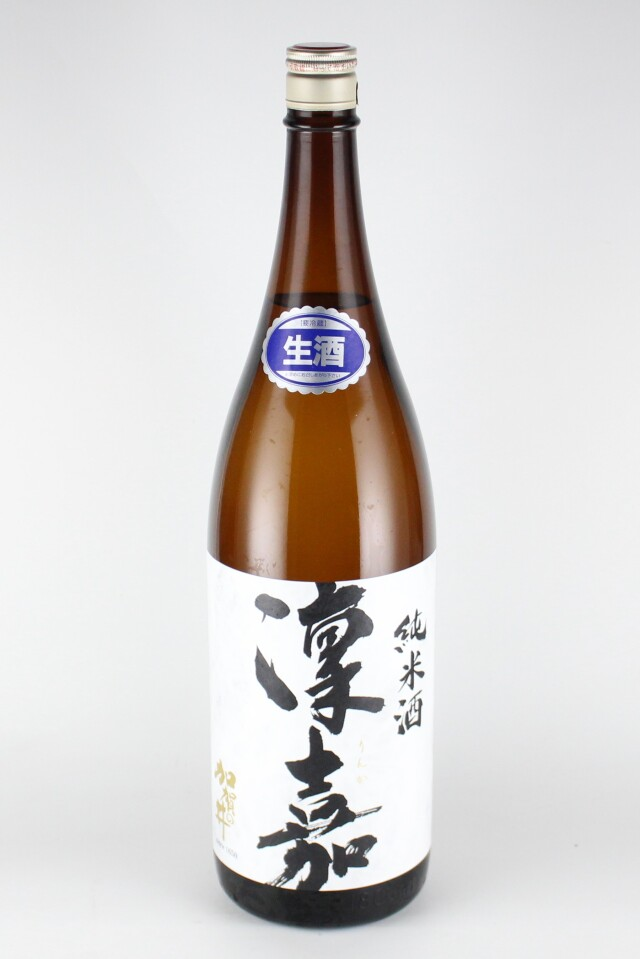 加賀の井 凜嘉 純米生原酒 五百万石 1800ml 【新潟/加賀の井酒造】