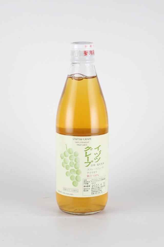 井筒グレープストレート果汁 白 ナイヤガラ 360ml 【長野/井筒ワイン】