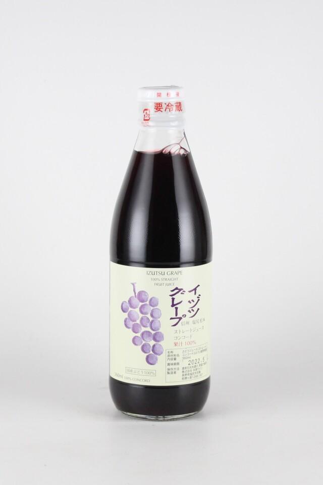 井筒グレープストレート果汁 赤 コンコード 360ml 【長野/井筒ワイン】