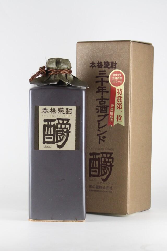 釂(しょう)エクセレンス 三十年古酒ブレンド 35度 720ml 【熊本/房の露】樽貯蔵米焼酎