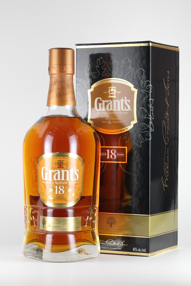 ブレンデッド グランツ 40度 700ml 【スコットランド/ウィリアム・グラント&サンズ社】