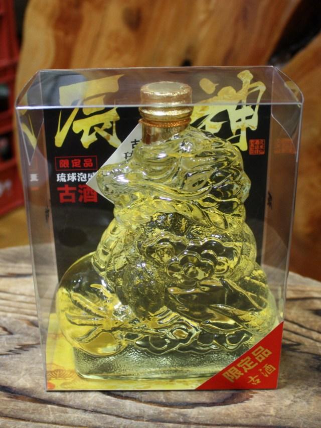 【沖縄/久米仙酒造】 久米仙 辰神(たつじん) 樽熟成古酒 (560ml)限定品