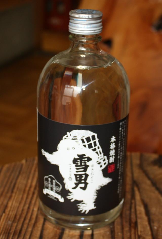 雪男 本格吟醸粕取焼酎 25度 720ml 【新潟/青木酒造】