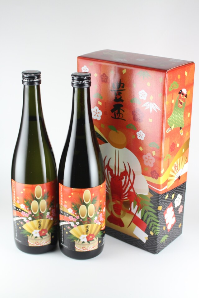 豊盃 純米吟醸生 豊盃米 720ml 【青森/三浦酒造】