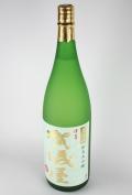 賀儀屋 緑ラベル 純米大吟醸無濾過 瓶火入 1800ml 【愛媛/成龍酒造】