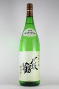 〆張鶴 純米吟醸 越淡麗 1800ml 【新潟/宮尾酒造】
