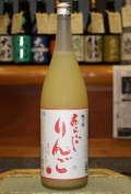 梅乃宿 あらごしりんご (1800ml)【奈良/梅乃宿酒造】