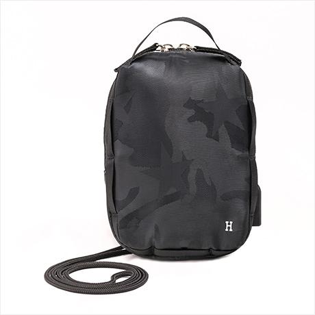 【予約】1月下旬販売 Super mini pouch(シュペールミニポーチ)ブラックスター