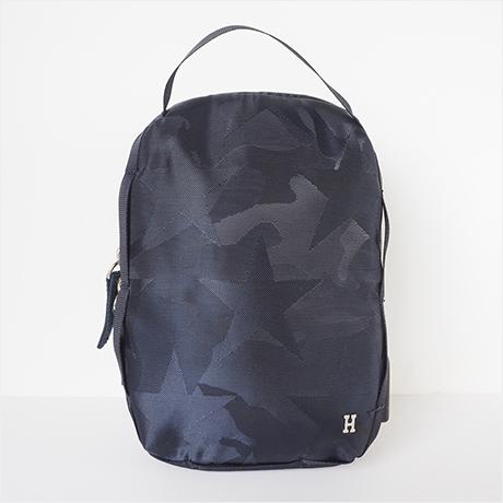 Super mini pochette bag(シュペールミニポシェット)ネイビースター