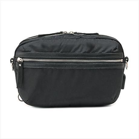 【予約】1月下旬販売 Super body bag(シュペールボディバッグ)ブラック