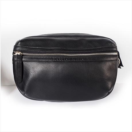 【予約】1月下旬販売 Super body bag(シュペールボディバッグ)ブラックレザー