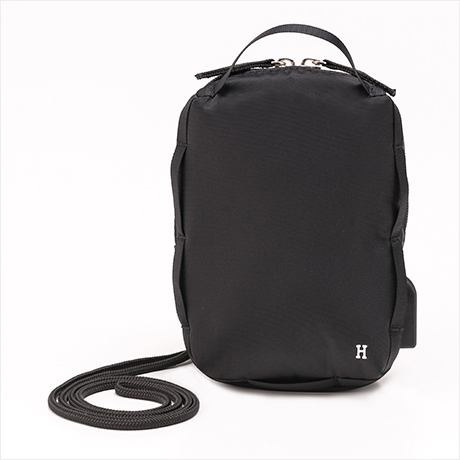 【予約】1月下旬販売 Super mini pouch(シュペールミニポーチ)ブラック