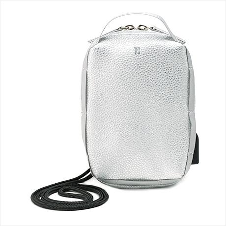 【予約】1月下旬販売 Super mini pouch(シュペールミニポーチ)シルバー