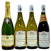 シャンパーニュ地方で作られるワイン! 4本セット