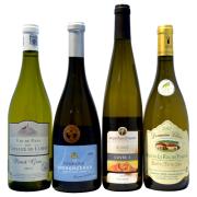 【送料無料】 モノセパージュで飲み比べ!  白ワイン4本セット