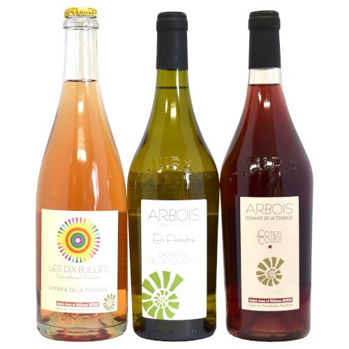 【送料無料】美食の街アルボワからグルメなワイン 泡・白・赤 3本セット
