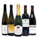 【送料無料】 ツール・ド・フランス ワインで旅する美味しいフランス 5本セット