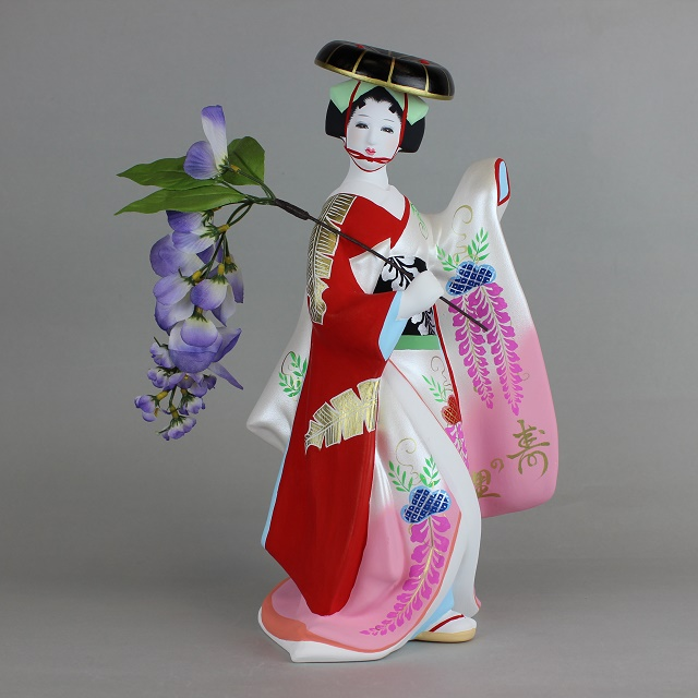 献寿作 藤娘(大) 後藤博多人形(株)