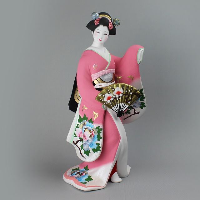 献寿作 舞牡丹 後藤博多人形(株)