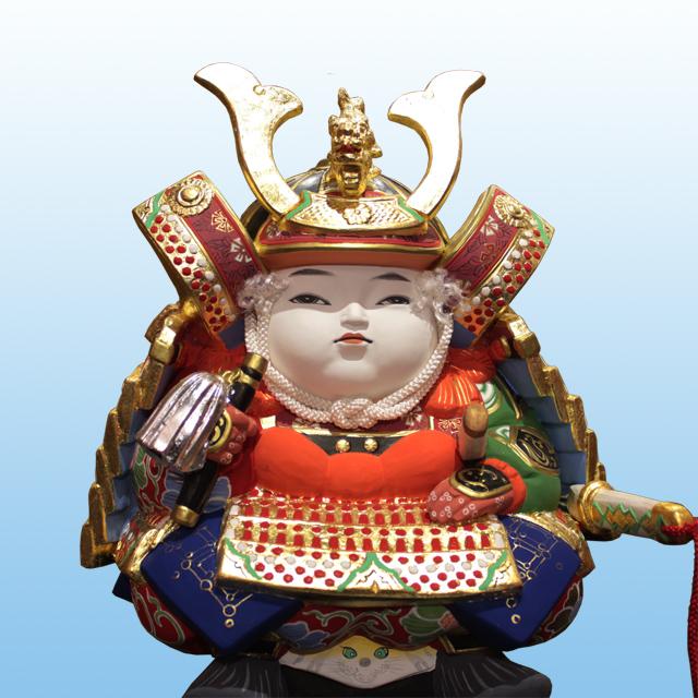 献寿作 御大将 後藤博多人形株式会社