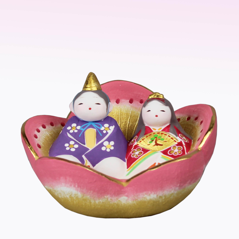 後藤博多人形㈱ 四郎作 花雛