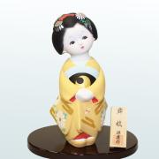 源慶作 舞妓 後藤博多人形(株)