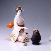 國明作 点茶 後藤博多人形(株)