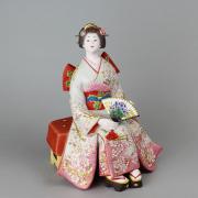 國明作 花吹雪 後藤博多人形(株)