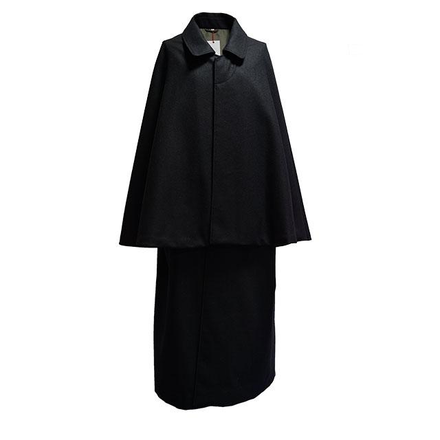 インバネスコート(紳士用)|ブラック