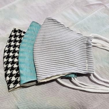 米沢織マスク(メンズ)3枚1セット