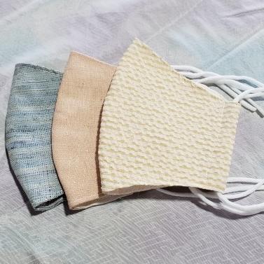 米沢織マスク(レディース)3枚1セット