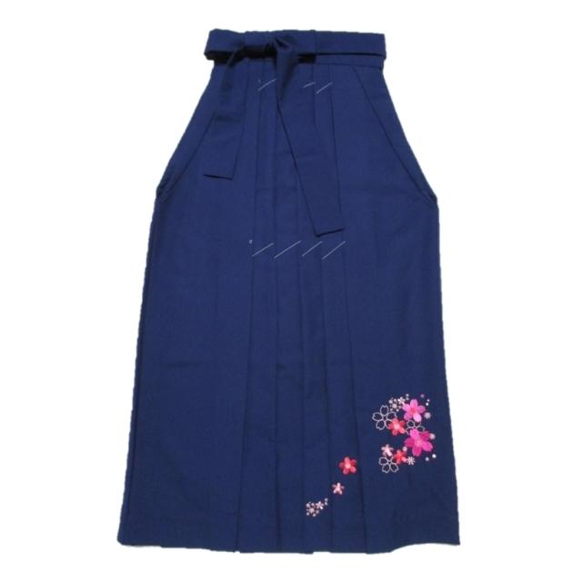 ウール袴 裾刺繍入り