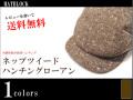 ネップツイードハンチングローアン(帽子 メンズ 秋 大きいサイズ 小さいサイズ)