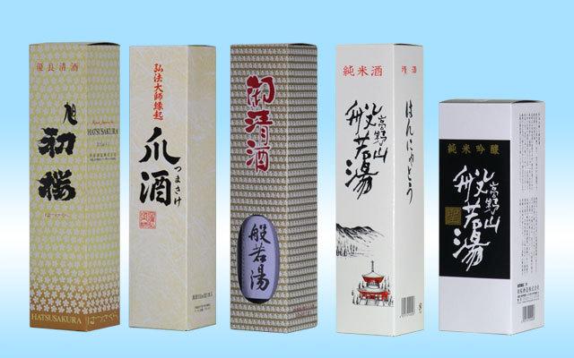 初桜オリジナル300ml小瓶用化粧箱