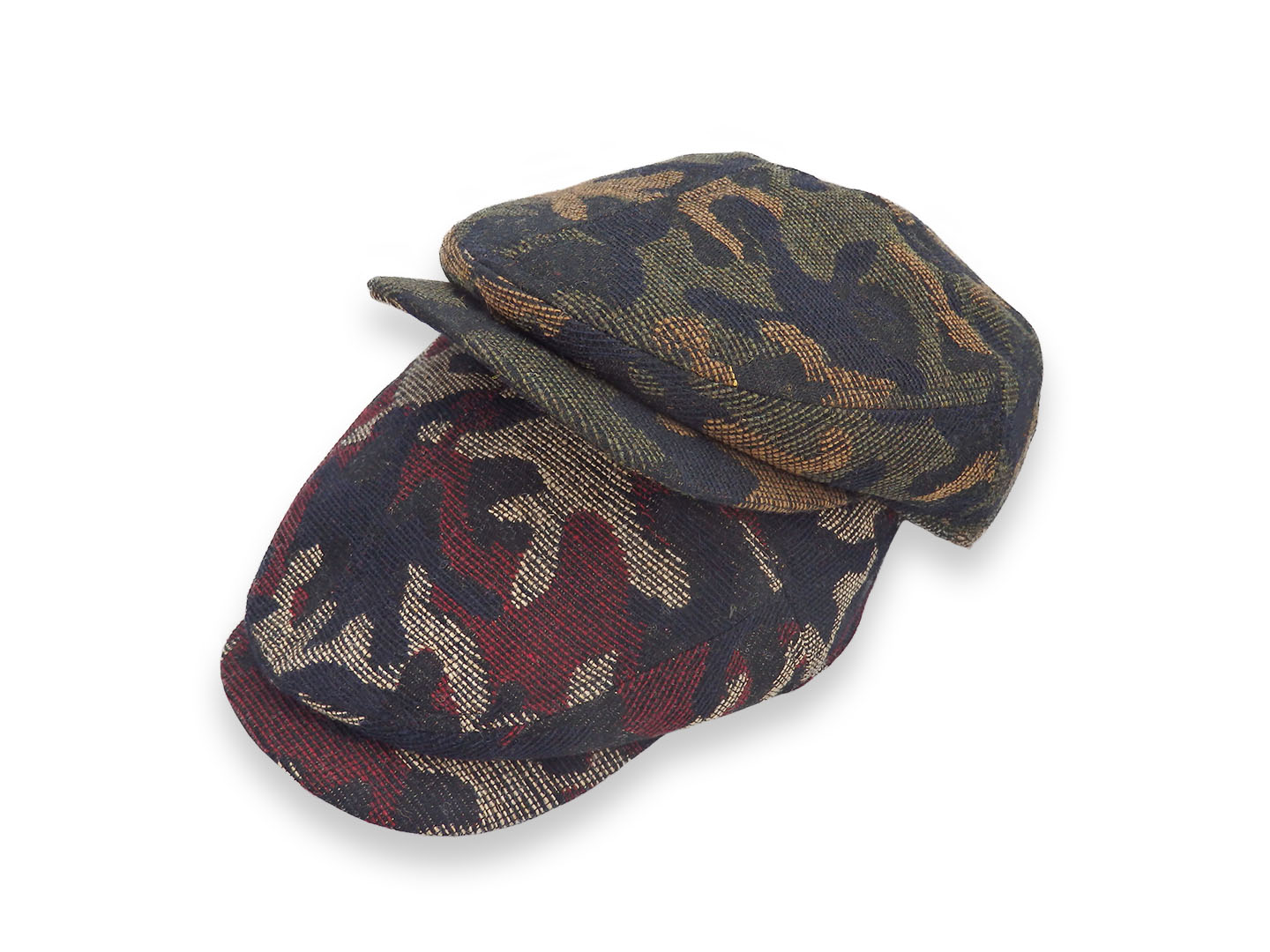 Wool Camouflage hunting / Made in Tokyo カモフラージュハンチング