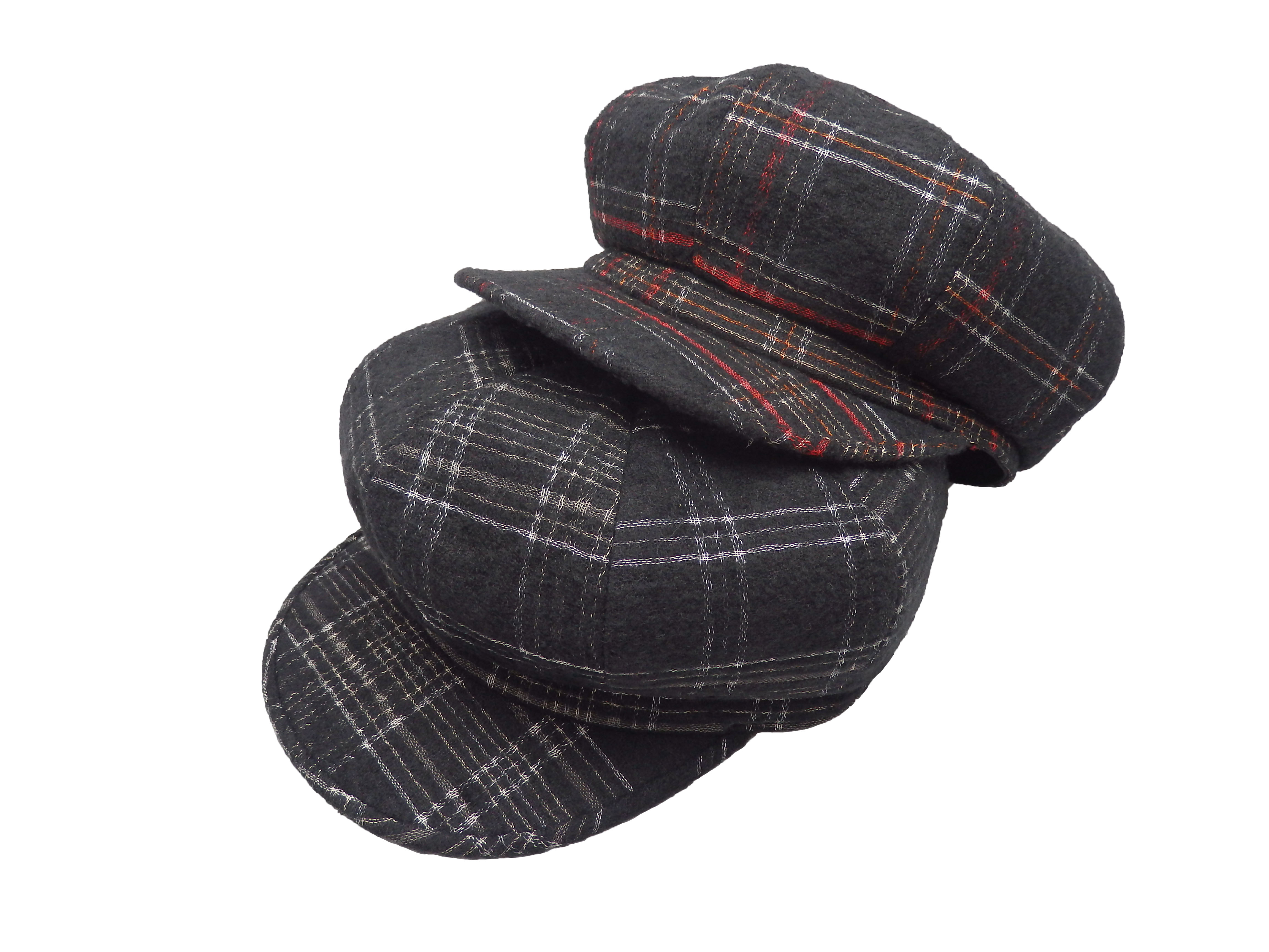 Wool check casguette/MadeInTokyo