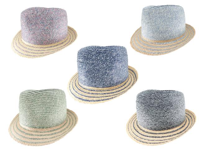 Mix braid hat / Made in italy  ミックスブレードハット